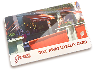 Giacopazzis Loyalty Card